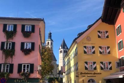 Verliebt in Kitzbühel! Noble DG-Wohnung in begehrter Zentrumslage