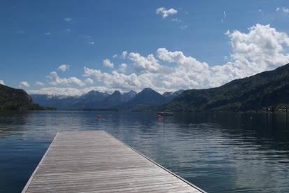 Detox für die Seele! Maisonette mit einzigartigem Blick auf den Wolfgangsee und privaten Seezugang