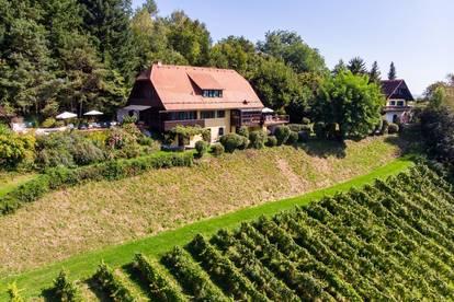 Rarität mit Seltenheitswert - Wein-Idylle in sensationeller Panoramalage
