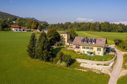 Romantik de Luxe! Schlossartiger Landsitz  in sonniger Panoramalage  unweit der Stadt