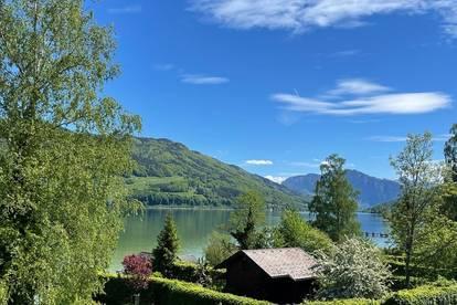 Seen‑sucht Mondsee!<br />Urlaubsflair im Neubauhaus mit privatem Badeplatz
