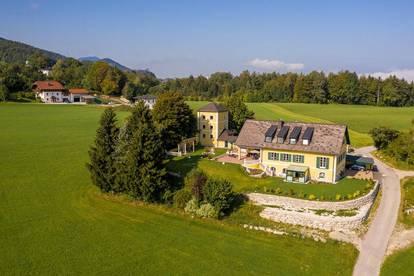 Romantik de Luxe!Schlossartiger Landsitz in sonniger Panoramalage unweit der Stadt