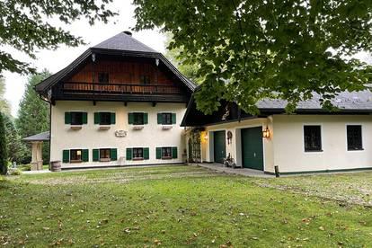 30 min zur Festspielstadt!Naturschönheit - Gutshof auf 5 ha Grund, Gästehaus, 1.300 m² Privatteich!