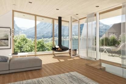 Logenplatz am Wolfgangsee! 4-Zimmer-Maisonette mit XL-Sundeck und privatem Seezugang