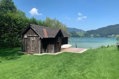 Seen‑sucht Mondsee!<br />Schöner Wohnen Neubauhaus mit privatem Badeplatz