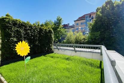 Anlegerwohnung - 2 Zimmer und ein Garten
