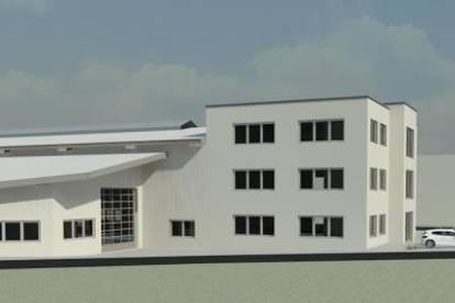 """""""Neubau-Projekt im Gewerbegebiet Nord"""" Hallen-Lager und Büroflächen zur Miete"""