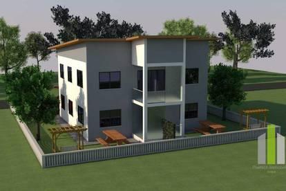4-Zimmer Gartenwohnung und Doppelcarport