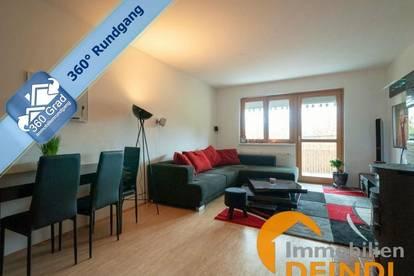 Top gepflegte 3-Zimmer-Wohnung mit Balkon und Parkplatz in Eggelsberg