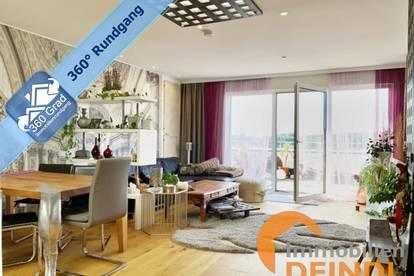 Neuwertige Penthouse Wohnung mit Terrasse und traumhaftem Ausblick in Bürmoos