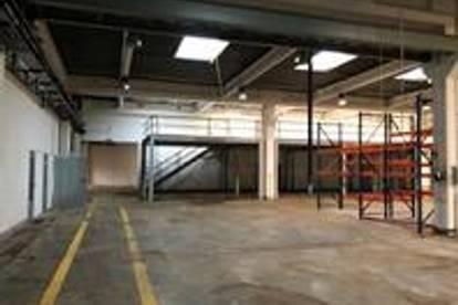 Firmenstandort mit multifunktionaler Lagerhalle, Werkstätte und Büros befristet zu mieten