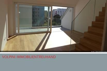 Wirklich Charmante Wohnung im Dachgeschoss!!! Nahe DonauPark! Erstbezug.