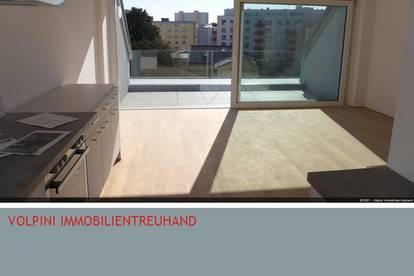 Neu errichtete DG-Wohnung im Finanz- und Kulturzentrum von Linz, Erstbezug!