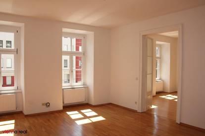 Helle 2-Zimmer Altbauwohnung im 4. Bezirk mit separater Küche und KFZ-Abstellplatz optional