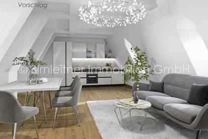 3905 - Spittelberg: Reizende Dachgeschoßwohnung