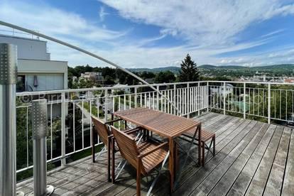 4033 - Sonnige Dachgeschossmaisonette mit Terrasse