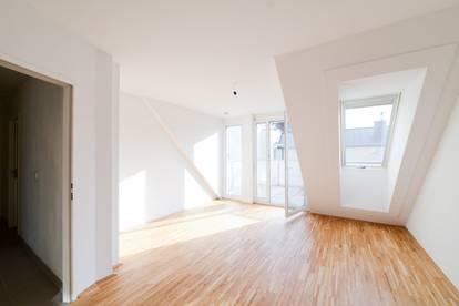 Sonnige DG-Wohnung mit Terrasse direkt bei U3-Kendlerstraße