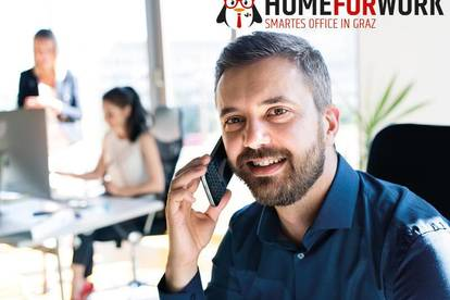 HOMEFORWORK: Coworking Arbeitsplatz zum All-Inclusive-Preis nahe Hauptbahnhof
