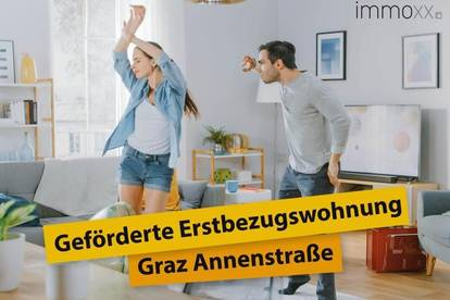 Geförderte Neubau-Mietwohnung in der Annenstrasse TOP 9