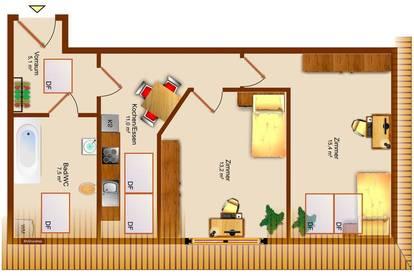 Schöne Wohnung in Graz - Die Clevere € Anlage - T2/W14