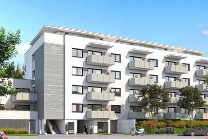 Wohnen am Puls - Geförderte Neubau-Mietwohnung Steggasse TOP 12 inkl. Tiefgarage