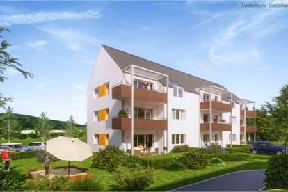 Schöne geförderte 3-Zimmer Gartenwohnung in Pöchlarn – perfekt für Familien (mit Kaufoption)