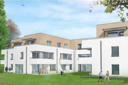 Betreutes Wohnen in Kirchstetten – schöne südseitig ausgerichtete Dachterrassenwohnung
