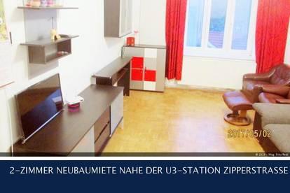 11. Rinnböckstrasse 2-ZIMMER NEUBAUMIETE NAHE DER U3-STATION ZIPPERSTRASSE