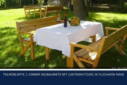 Fischamend - MÖBLIERTE 2-ZIMMER NEUBAUMIETE MIT GARTENNUTZUNG IN FLUGHAFEN NÄHE