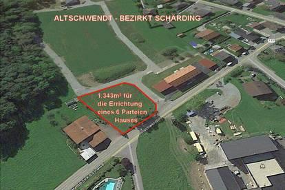BAUTRÄGER - Baugrundstück für die Errichtung eines 6 Parteienhauses