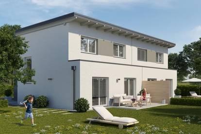 RESERVIERT !!! - Schicke Doppelhäuser in ruhiger Siedlung in Langenlebarn