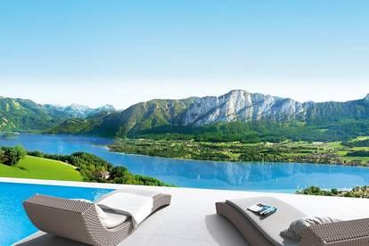Die West Lounge lädt ein zum Wohnen und Genießen auf 190m² im SkyLounge Standard-Private Spa inklusive.