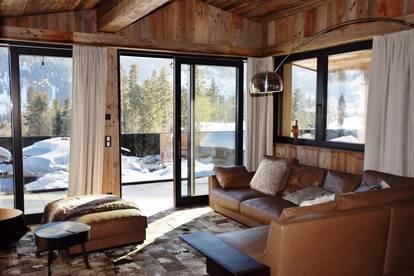 Luxus Chalets im modernen Alpin Stil