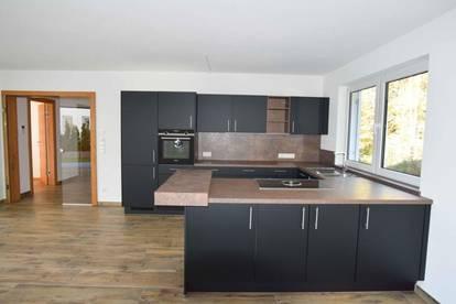 Traumhafte 3 Zimmer Neubau Wohnung mit Terrasse und Garten und Ausblick auf die Hohe Salve und Brandstadl