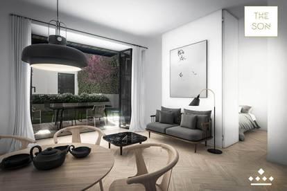 THE SON - Londonstyle-TOWNHOUSE Apartment mit Garten!