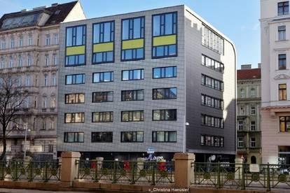 Bürogebäude mit repräsentativer Architektur