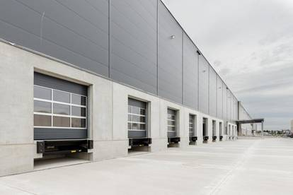 Logistikflächen im Industrial Campus Vienna East