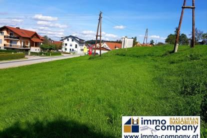 Sonniges & ruhiges Baugrundstück mit Top-Infrastruktur!