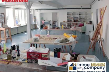 Ideale 60m²-Geschäftsräumlichkeit mit hauseigenen Parkplätzen für Büros, Praxen oder Künstleratelier!!