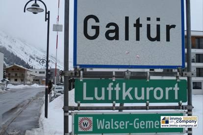 Galtür - im Paznauntal - in Nähe der Silvrettastrasse - liegt dieser voll erschlossene Bauplatz mit ca. 600 m2.