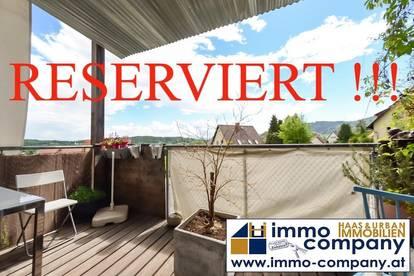 Moderne 2-Zimmer-Wohnung: grün, sonnig, ruhig !!!