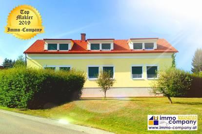 Großzügiges Wohnhaus in erhöhter Dorfrandlage, ca. 360m² Wfl, ca. 1594m² Grund – Kaufpreis 360.000 Euro!