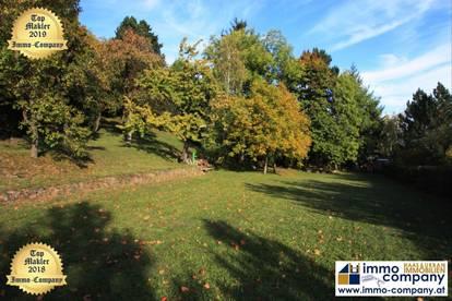*** NEUER PREIS *** Ternitz - St. Johann *** Schönes Grundstück mit Altbaumbestand nähe Naturpark Sierningtal