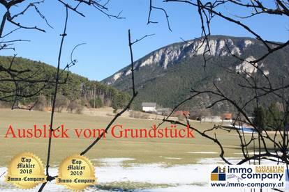 *** Ternitz - Sieding *** Schöner, ruhiger Baugrund mit Fernsicht nähe Naturpark