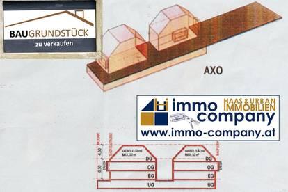 Baugrundstück in Eßling für 2 Doppelhäuser oder 1 Wohnhaus