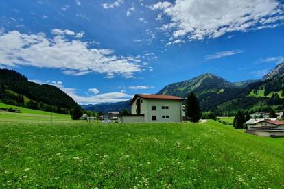 Im schönen Tannheimertal - in Schattwald - wird diese neue exklusive Eigentumswohnung mit ca. 68,72m2 verkauft.
