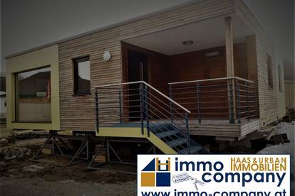 Modernes mobiles Holzhaus