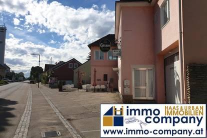Hollabrun, Vordere Haushälfte mit Lokal in zentraler Lage in Ziersdorf