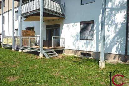 Komplett möblierte 3-Zimmer-Mietwohnung mit Terrassen- und Gartenbereich