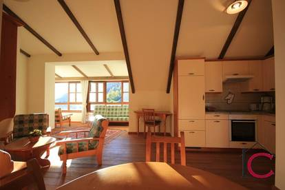 Reizende 3-Zimmer-Wohnung in einem gepflegten Wohnhaus nahe der Skipisten